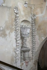 Alcove in Sedlec Bone Church