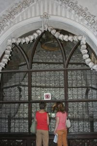 Skull Vault in Sedlec Bone Church