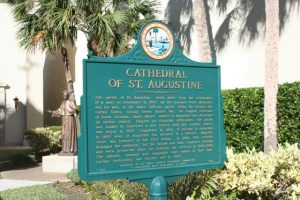 Basilica of Saint Augustine Historic Marker