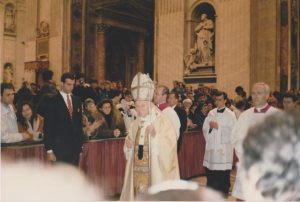 Papal Blessing During Christmas Mass at St. Peter's Basilica