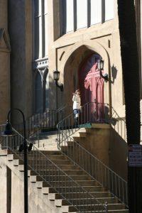 Wesley Monumental United Methodist Church Entrance