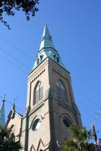 Wesley Monumental United Methodist Church Belltower