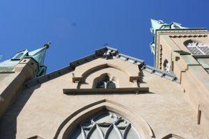 Wesley Monumental United Methodist Church Facade
