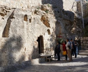 The Garden Tomb, Golgotha