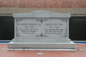 Tomb Martin Luther King Coretta Scott King Ebenezer Baptist Church Atlanta