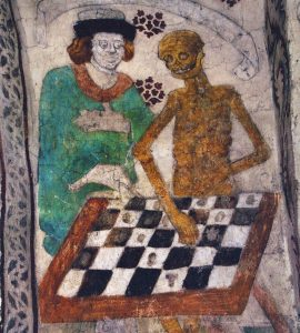 """Death Playing Chess"", Taby Church"