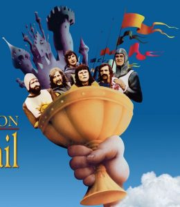 Holy Grail as depicted by Monty Python