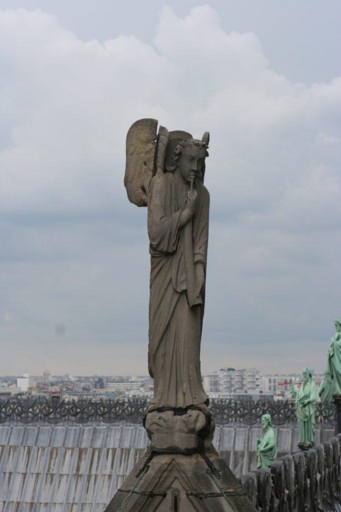 Archangel Michael, Notre Dame de Paris