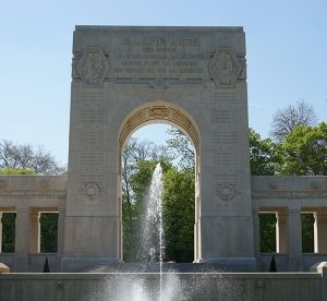Lafayette Escadrille Monument