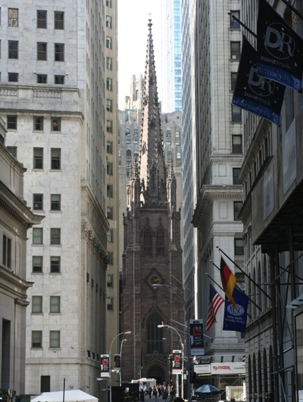 Trinity Church, Lower Manhattan